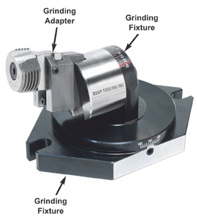 RSVP Tooling, Inc. - Circular Chaser Thread Rolling System - Grinding Accessories - Grinding Adapter